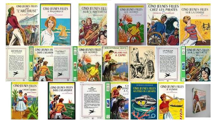 Cinq-jeunes-filles-bibliotheque-verte-dans-Mes-petits-lus-sur-ecrire-de-la-fiction-une-histoire-a-ecouter-chaque-jour-#2