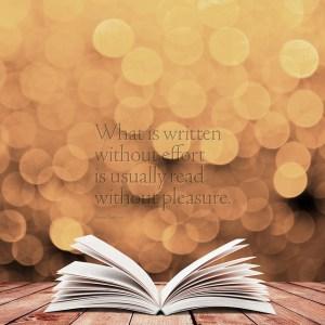 écrire et être lu challenge