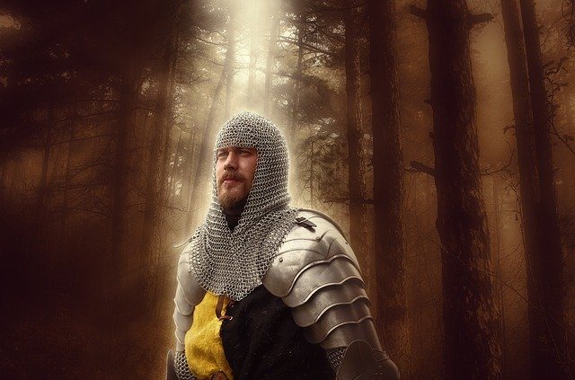Le chevalier: un cliché de fantasy