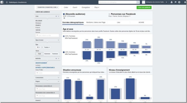 statistiques d'audience Facebook 3
