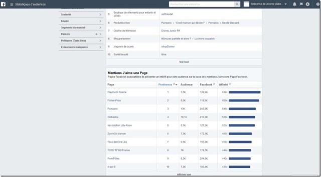 statistiques d'audience Facebook 8