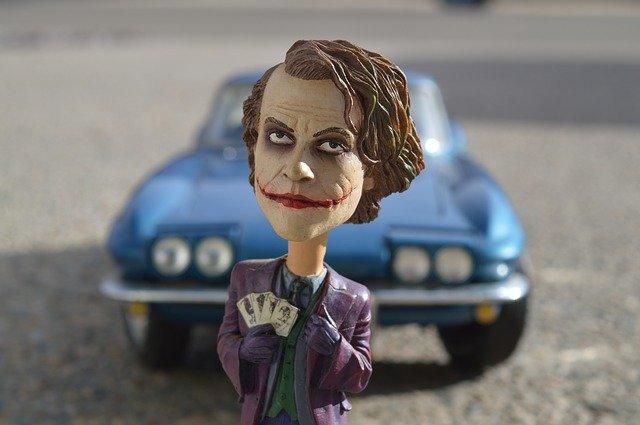 Le Joker, sa folie fait de lui un méchant que l'on adore