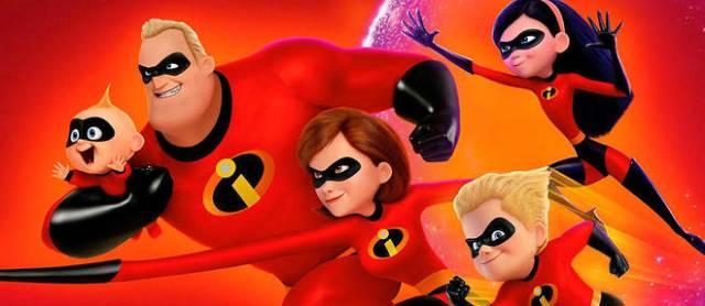 Les super héros Pixar