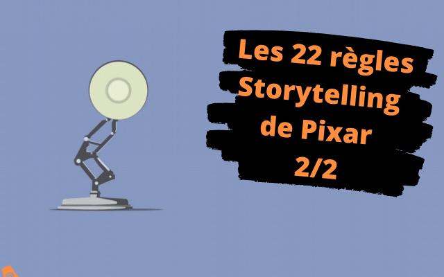 22 règles de storytelling Pixar