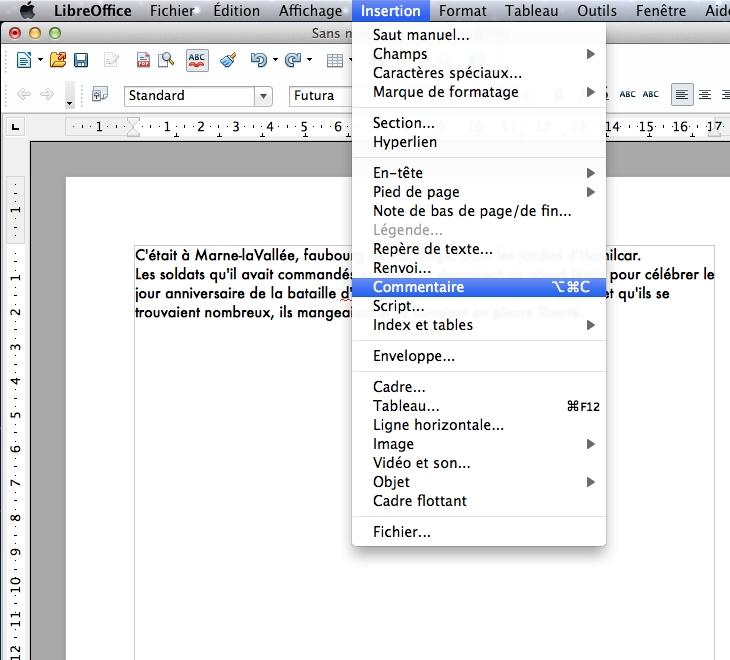 Ecriture collaborative : Open Office