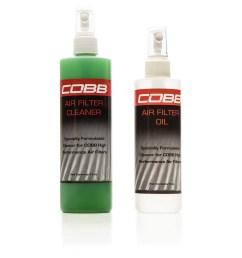 cobb short ram intake air filter cleaning kit universal [ 1556 x 1556 Pixel ]