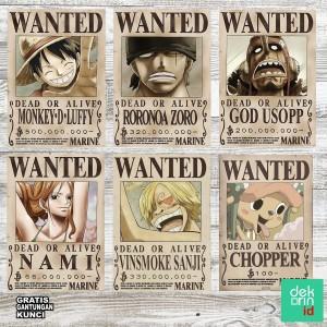Luffy and the straw hat pirates. 24 Harga Hiasan Dinding Rumah Paket Murah Terbaru 2021 Katalog Or Id