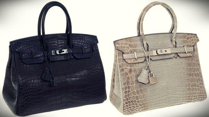 tas termahal di dunia - Hermes Matte Crocodile Birkin Bag