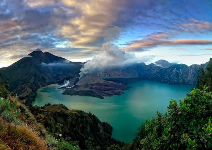 tempat wisata yang wajib dikunjungi saat berlibur ke lombok - gunung rinjani