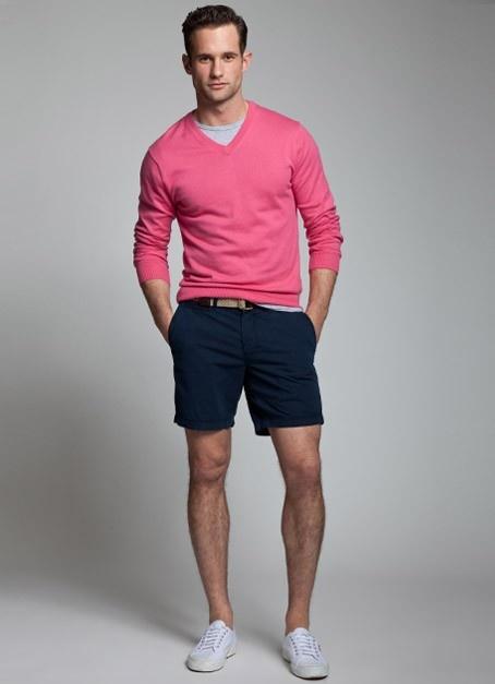 Fashion Pria Tampil Keren Dengan Celana Pendek Bisa Kok