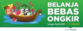 Belanja lewat Aplikasi Tokopedia, Gratis Ongkir hingga Rp20.000