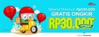 Belanja Pakai J&T Express, Gratis Ongkir hingga Rp30.000