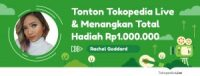 Nongkrong Online di Tokopedia Live, Menangkan Total Hadiah Rp1.000.000