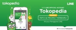 Official Account Tokopedia Kini Hadir di LINE