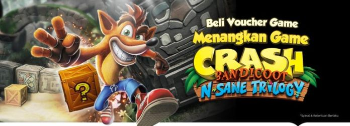 pengumuman pemenang giveaway nostalgia game crash bandicoot