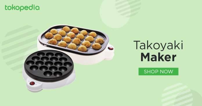alat penggoreng takoyaki