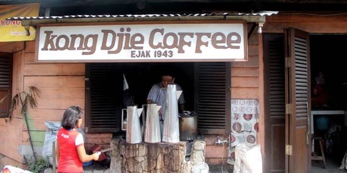 kedai kopi di Belitung - Warung Kopi Kong Djie