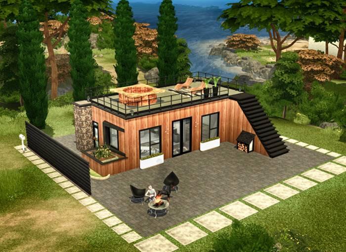 Kumpulan Desain Rumah The Sims 4 Terbaik  Tokopedia Blog