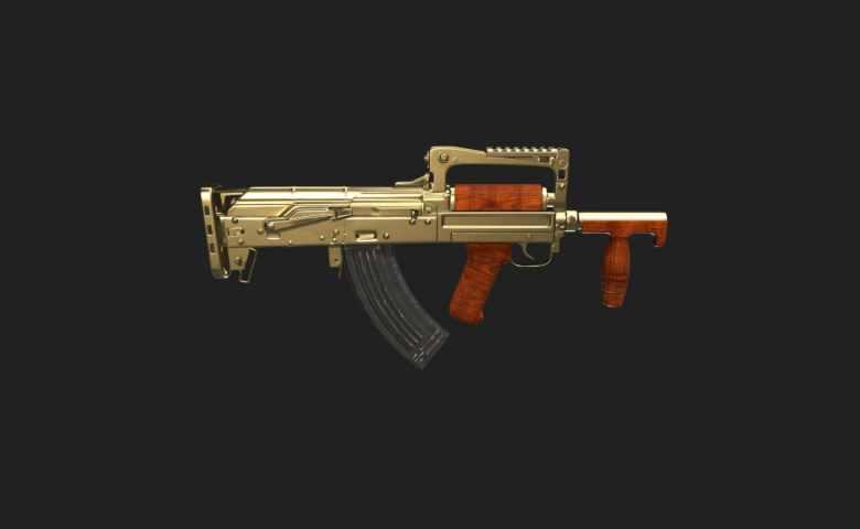 senjata terbaik pubg