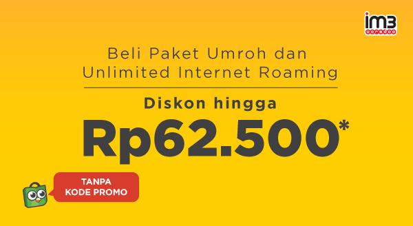 Beli Paket Roaming Indosat, Diskon!