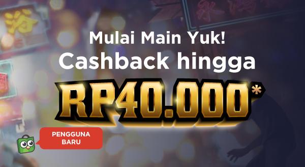 Khusus Pengguna Baru, Beli Voucher Game, Dapat Cashback!