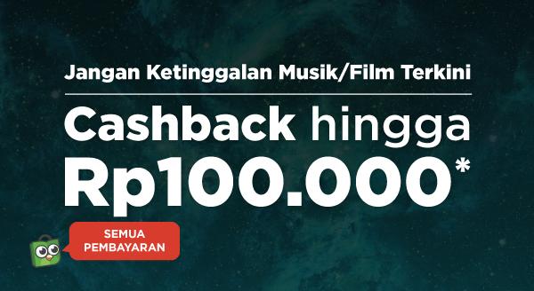 Raih Cashback hingga Rp100.000, Streaming Makin Seru!