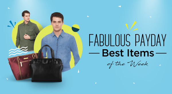 Enjoy Fabulous Surprise with Payday Special Price!