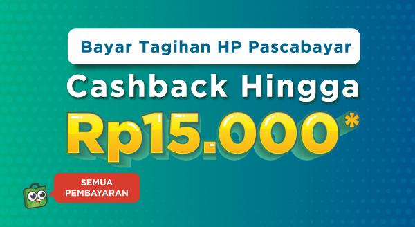 Bayar Tagihan Pascabayar, Raih Cashback-nya!