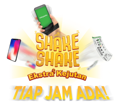 Shake Shake Ekstra Kejutan