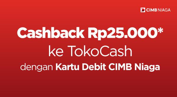 Beli kebutuhan Ramadan kamu dengan Kartu Debit CIMB Niaga dan dapatkan cashback-nya!