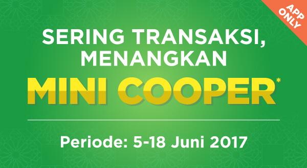Ayo beli & bayar ini itu di aplikasi Tokopedia, menangkan MINI Cooper & ribuan hadiah lainnya