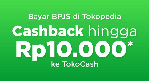 Bayar BPJS sekarang dan dapatkan cashback hingga 10 Ribu ke TokoCash!