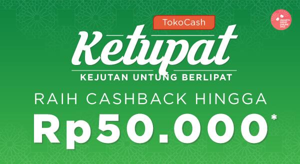 Ikutan event Jakarta Great Online Sale dan raih cashback hingga Rp50.000.