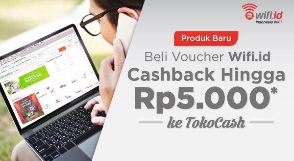 Sudah tahu belum? Sekarang kamu juga bisa beli voucher Wifi.id di Tokopedia, lho!