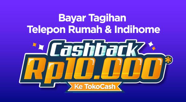 Komunikasi dan internetan tanpa batas, yuk bayar tagihan telepon & IndiHome di Tokopedia dan raih cashback-nya.