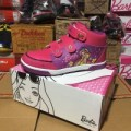 Sepatu anak perempuan keds barbie ando