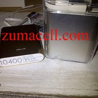 powerbank power bank xiaomi original 10400mah silver gold original