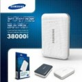 Powerbank Samsung 38000mah new