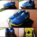 SEPATU BASKET UNDER ARMOUR CURRY ONE LOW WARRIORS