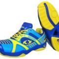 Sepatu Bulutangkis / Badminton Astec Thor Blue/Yellow