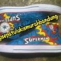 sepatu lukis superman converse bisa size 22-42