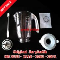 Sparepart Jar Plastik Blender Philips HR 2115-2116-2061-2071 (Komplit)