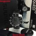Jam Tangan SUUNTO Original 100%  Quest Black with HR hitam