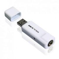 TV Tuner Input antena Digital DVB-T2 USB Stick untuk PC/Laptop DVT-T2