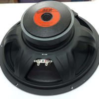 SPEAKER 12 INCH FULL RANGE ACR 1230 BLACK 500 WATT ( ORIGINAL ASLI )