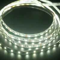 12V 5050 / 60 Double Warna Kuning + Putih LED Strip Lampu Selang