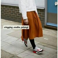 Celana Hijab Muslim Muslimah, Legging Muslimah, Legging Wudhu Pelangi