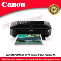 Printer Canon ix6770 A3 inkjet
