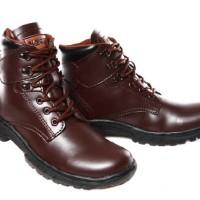 Sepatu Boot Almost Wolfrin Coklat