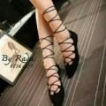 sepatu wanita balet balerina hitam ( sedal/sandal cewek )